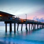 Florida Sunrise Dania Beach Pier